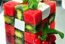 ¡ñam! Fruits. << Desserts. Postres. Sweets courses. Bukatzeko / The last course. El final: el postre. Dulces, fruta, pasteles..etc. Sweet, fruit, ice-cream...bukatzeko. / by alvaro ellakuría
