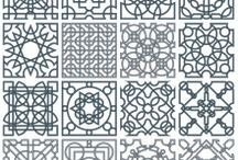 Interlace patterns / In this category you can download many free interlacing patterns that you can use in your design projects. / by Craftsmanspace Jan
