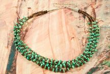 Necklaces / by Treasures of the Southwest.com
