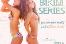 BIKINI SERIES VISION BOARD #createyoursummer / Fitness and Health  / by Sarah Tjarks