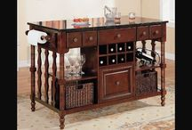 Kitchen Island carts / Kitchen Island carts, If you spend a lot of time in your kitchen, so you need for smart kitchen that has many functional uses and elegant style, these requirements are accurately available in the kitchen island, as illustrated in the pictures below. Even if you haven't a place for a large kitchen, then you can have kitchen island carts. / by kitchen designs 2014 - kitchen ideas 2014 .