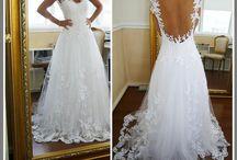 Fabulous Wedding Dresses Gowns / by Li'l Inspirations - Wedding Handkerchiefs Custom Made Personalized