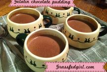 Low carb gelatins, puddings, mousses / by Jan Stamm