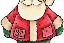 Santas / by Peg Barker