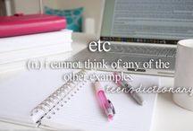 Teen Dictionary / by Ariana Minghetti