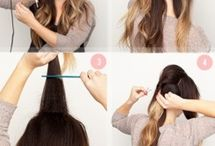 Long Lovely Locks / Great hairstyles for long hair / by Sandy Boone