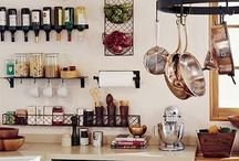 Kitchen / Architectural and decorating ideas for the kitchen. / by Erin Vale