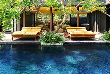 Close to the water / Interior design. Patios. Porches. Places close to a pool, beach, river.. / by Scarlet Navarro