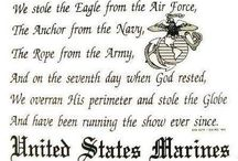 USMC / by Tracey Bloodworth