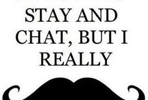 Moustaches...my obession / by Ally BC