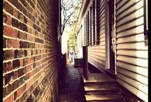 Secrets of the City / Explore the secrets of the city from tucked away gardens to a look behind the scenes. / by Colonial Williamsburg