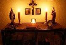 Catholic Home Altars and Icons / by Linda Montoya