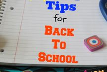 Back to School Tips and Recipes / by Eating on a Dime