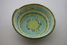 Fabric Bowls... / by Jan Warner