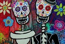 Dia de Los Muertos Party! / by Misha Williams