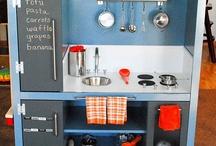Cassie's Play Kitchen / by Sarah L.