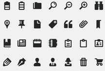 Design | Icons / by Ines Madlsperger