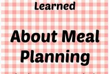 FOOD - Menus & Meal Planning / by D Stepp | The Shady Porch & Craft-D-ness