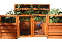 Gardening Idea's / Our backyard gardens are completely self-contained so you can take control over the soil, moisture, fertilizer and plants.