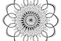 templates /  A variety of templates , drawings,coloring pages  and patterns. / by Marla Caire