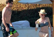 Celebrity Beach Sightings / Celebs soaking up the rays. / by CheapCaribbean.com