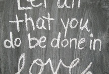 Some love  / by cassedy davis