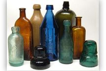 Vintage Canadian Bottles / by Bees Wax Works