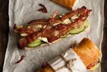 Sandwiches for a picnic / by llatoni