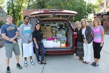 Alumni Backpack Project / Thanks to the ODU Alumni Office, over a hundred children in need will be prepared to start this school year on the right track.  / by Ohio Dominican University