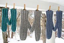 Knitting tutorials mittens, wristwarmers / by Jeannette