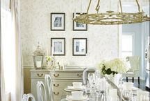 Dining room ideas / by Carrie {Hooked on Decorating}