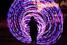 led hula hoop / by Jenitix Tix
