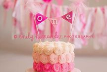 Kinsley's Pink Pumpkin 1st Birthday Party / by Jenny Roberts