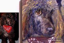 Pet Portraits Art / Custom original art of your pet. Portraits are original oil paintings painted from photographs. / by Laurie Rohner Studio