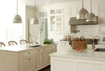 Kitchens-dual islands / by Julie Williams