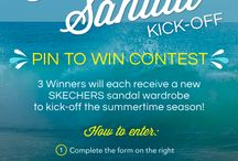 SKECHERS Pin to Win Contest: Summer Sandal Kick-Off / by Cassandra Eastman