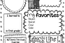 Classroom-Last week / Activities and resources for the end of the school year. / by Kimberlyn Thompson
