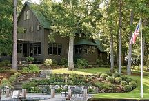 Architecture-Rustic, Cabins, Barns, Log Homes / Cabins, Barns, Log, Timber frame-more rustic style of homes / by the M group