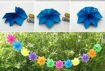Banner and party garland ideas / by Eli Pavelski