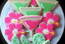 Decorated sugar cookies / by Tracy Burns