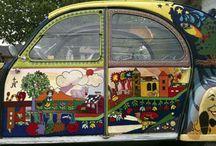 Art on Wheels  / by Zippy Pins