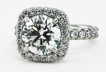 "conflict free diamonds / ""I said YES!"" (engagement rings/ wedding bands) part II ...no blood diamonds  / by Sharese Hall"