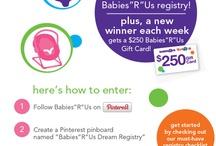 """Babies""R""Us Dream Registry"" / by Adina Bb"