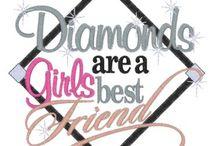 Diamonds & Pearls / by Wanda SemiRetired Gibson