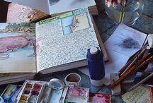 art journals / by PJ Hornberger
