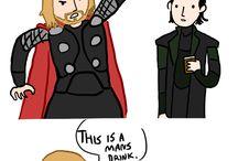 Loki, thor, and awesome gods / by Kay Budnik