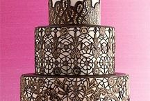 Wedding Trend: Vintage Lace Wedding Cakes / Vintage lace popular called 'old school lace' in Nigeria is the 60s dress crafted of embroidered lace blanketed with cotton floral appliques. Remember that thick beautifully made lace at the bottom of your grandmother's trunk? Yes, that one that smells like old if you know what I mean. We adore vintage lace, the difference is just amazing, simple! If your wedding theme has anything to do with lace or it's vintage, then I 'm certain you would want to achieve the most beautiful & classic wedding! / by Nigerian Wedding