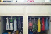 Organizing & Storage Tips / by Charlotte Gates