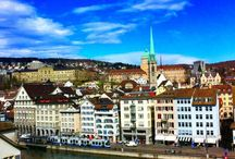 Zurich's districts / Places to explore during your visit.  / by Park Hyatt Zurich