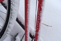 Snow bikes / It's been a tough winter for bikes in Chicago... / by Samantha/DingDingLet'sRide